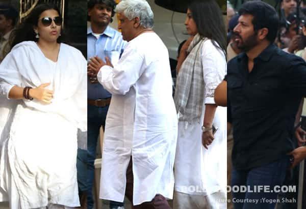 Om Puri passes away: Vidya Balan, Shabana Azmi, Kabir Khan attend the last rites – view HQ pics
