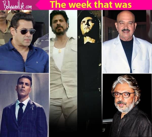 Shah Rukh Khan's Raees vs Hrithik Roshan's Kaabil, Salman Khan's blackbuck case – meet the top 5 newsmakers of the week