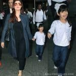 Akshay Kumar's daughter Nitara caught getting goofy with the paparazzi - view HQ pics