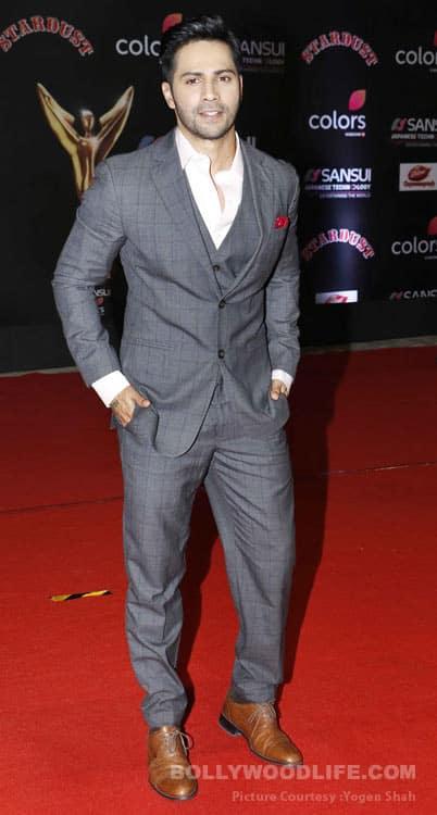 Varun Dhawan stardust awards