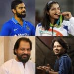 Padma Awards 2017: Virat Kohli, Kailash Kher, Sakshi Malik, KJ Yesudas win honours as Bollywood actors get ignored