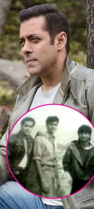 Salman shares a nostalgic picture with SRK and Hrithik to calm down the Raees Vs Kaabil clash