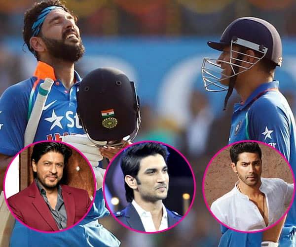 Shah Rukh Khan, Varun Dhawan, Sushant Singh Rajput hail Yuvraj Singh and M S Dhoni's performance at the second ODI between India and England