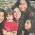 AbRam Khan poses with sister Suhana and her friends in this adorable picture