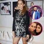 Karan Kundra's current girlfriend, Anusha Dandekar and ex Kritika Kamra bump into each other at Dabboo Ratnani's 2017 calendar launch