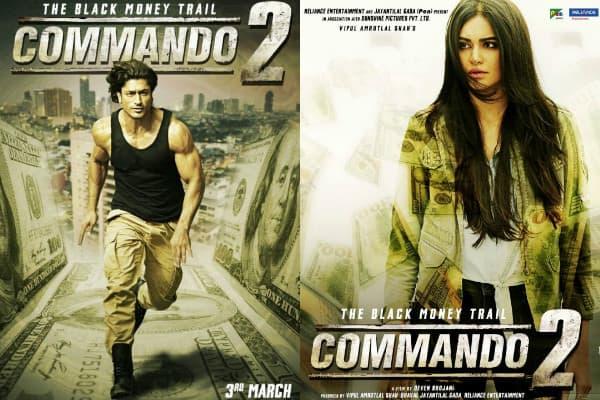 Commando 2 new posters: Vidyut Jammwal, Adah Sharma, Esha Gupta and Freddy Daruwala's action drama looks thrilling – view pics