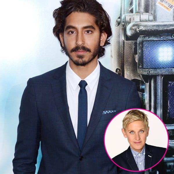 Ellen DeGeneres feels Dev Patel should be named the SEXIEST man alive