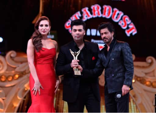 Stardust Awards 2016: Iulia Vantur and Shah Rukh Khan share the stage and we're left wide-eyed!