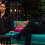 Koffee with Karan season 5 promo: Tiger Shroff opens up about his crush on Shraddha Kapoor, while father Jackie Shroff makes his fascination for Madhuri Dixit quite clear - watch video