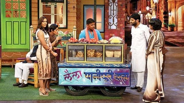 Kapil Sharma arranges live pani-puri stall for real life Dangal sisters on The Kapil Sharma Show