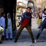 Katrina Kaif and Ranbir Kapoor look cute as buttons in this still from Jagga Jasoos