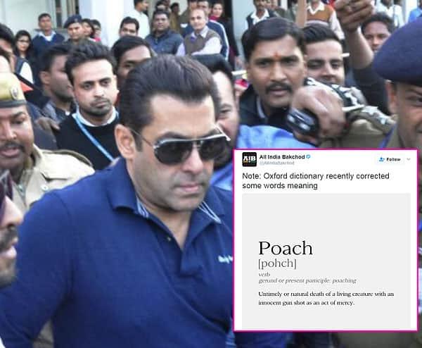 Salman Khan's statement on blackbuck dying of 'natural causes' leaves Twitter in splits