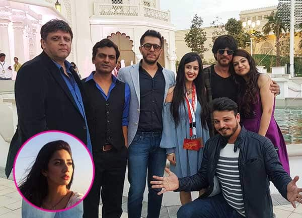 Shah Rukh Khan and team Raees promote their film in Dubai, but where is Mahira Khan – view pics
