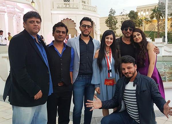 shah rukh khan raees promotions in dubai