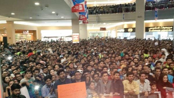 shah rukh promoting raees in dubai 6