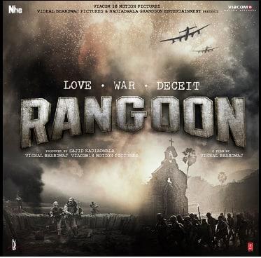Shahid Kapoor shares the first look of Rangoon