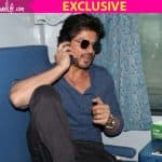 Watch Shah Rukh Khan board a train to Delhi for the promotions of Raees