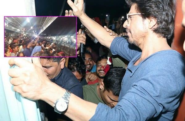 Shah Rukh Khan's 'Raees by rail' promotion turns tragic after a man dies at Vadodara station