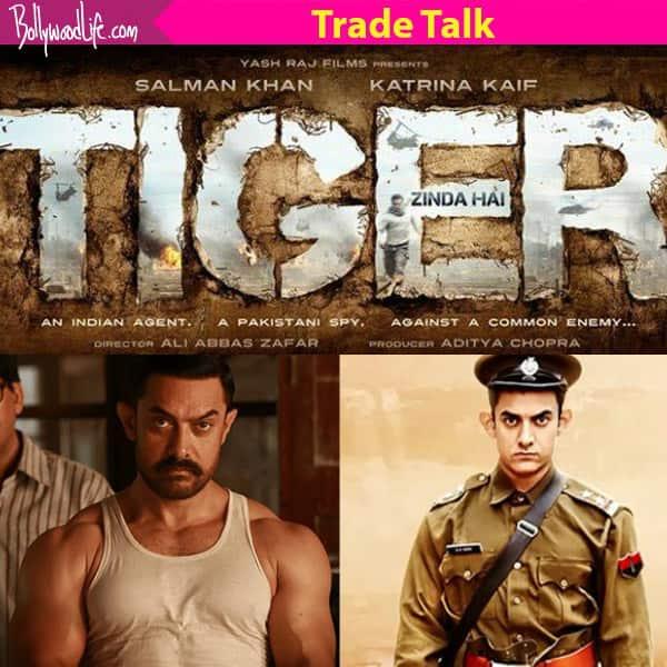 Salman Khan and Katrina Kaif's Tiger Zinda Hai is a THREAT to Dangal and PK's records, suggests trade expert