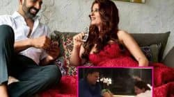Akshay Kumar gets some butt kicking on his anniversary from Twinkle Khanna – watch video