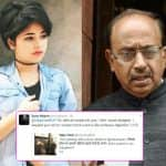Dangal's Zaira Wasim and Sports Minister Vijay Goel's Twitter exchange will STUMP you