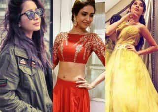Gauahar Khan, Karishma Tanna, Helly Shah - check out TV beauties sporting spring colours for 2017