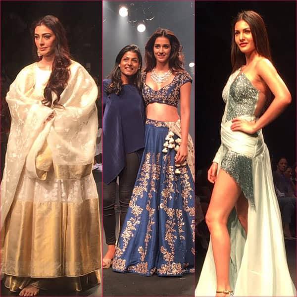 Lakme Fashion Week 2017: Disha Patani, Tabu and Amyra Dastur look stunning as they walk the ramp – view pics