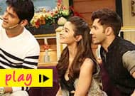 Watch Alia Bhatt and Varun Dhawan go live on The Kapil Sharma show