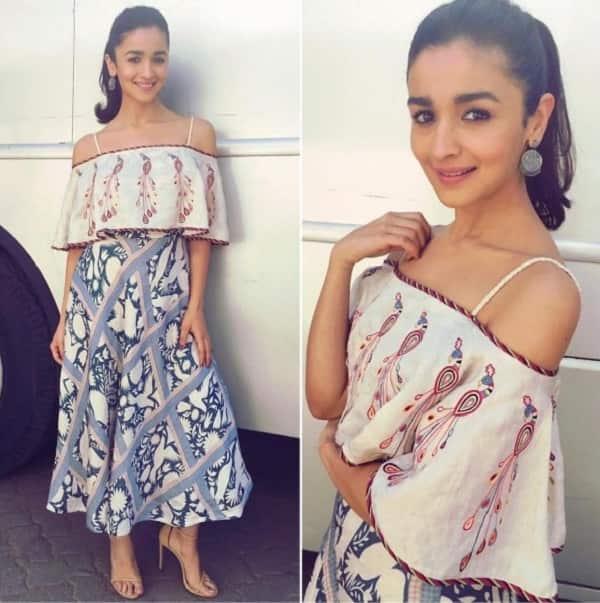 Alia Bhatt in Swati Vijay Vargie outfit BKD promotions