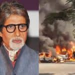 Shocking! 3 cars mysteriously catch fire nearby Amitabh Bachchan's Juhu bungalow - watch video