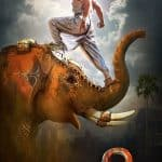 Baahubali 2 motion poster: Prabhas' powerful stance on an elephant is a sight to behold