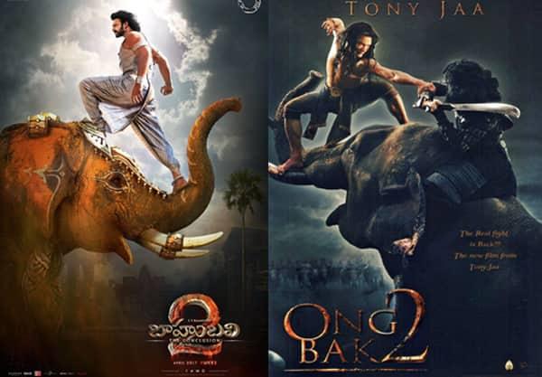 Are makers of Prabhas' Baahubali 2 aping this Tony Jaa movie poster?