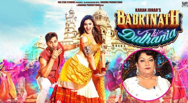 Saroj Khan not happy with the makers of Varun-Alia's Tamma Tamma Again