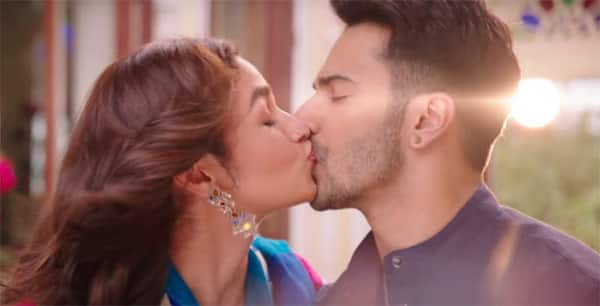 Kiss of alia bhatt