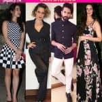 Kangana Ranaut, Shahid Kapoor, Katrina Kaif, Sara Ali Khan - take a look at the best-dressed celebs this week