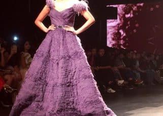 Lakme Fashion Week 2017: Daisy Shah looks like a princess as she walks the ramp for AMIT GT - view pics