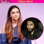 Deepika Padukone reveals she has NO TIME for romance; Ranveer Singh are you listening?? Watch video