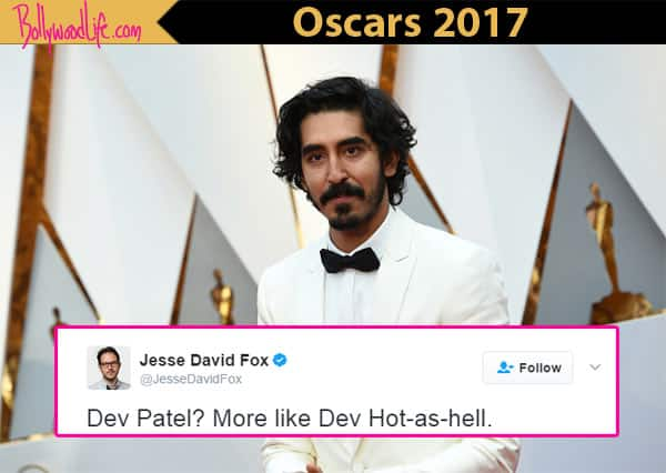 Oscars 2017: People on Twitter are thirsting over Dev Patel's pics from the Academy Awards
