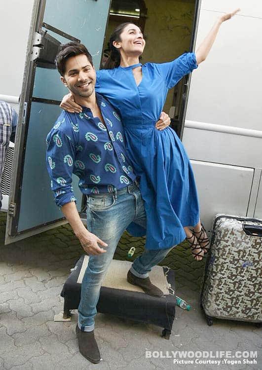 Varun Dhawan and Alia Bhatt prove blue truly is the warmest colour – view HQ pics