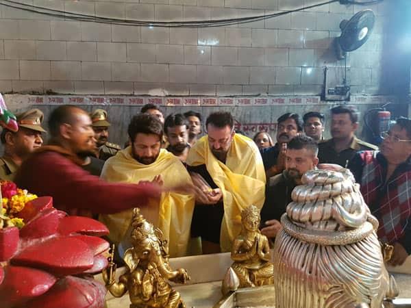 Sanjay Dutt celebrates Maha Shivratri at famous Agra temple- view pic