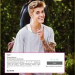 Rs 77000! That's how much you will have to pay to get up close and personal with Justin Biber at his India show