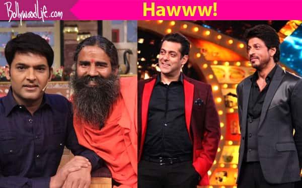 Holy Moly! Baba Ramdev on The Kapil Sharma Show beats Salman-Shah Rukh on Bigg Boss 10