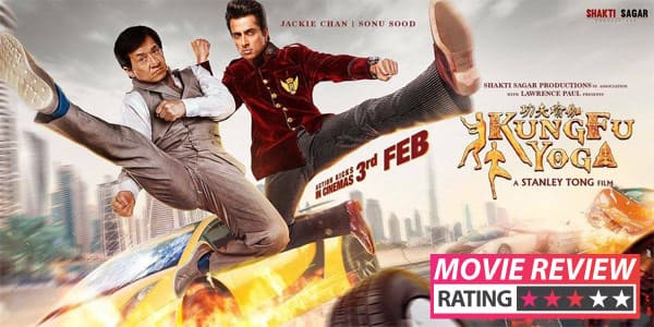 Kung Fu Yoga movie review: Jackie Chan and Disha Patani's action drama is entertaining but suffers from a limp climax