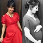 Ex-Bigg Boss contestant Karan Mehra's wife Nisha Rawal flaunts her baby bump while looking gorgeous in red