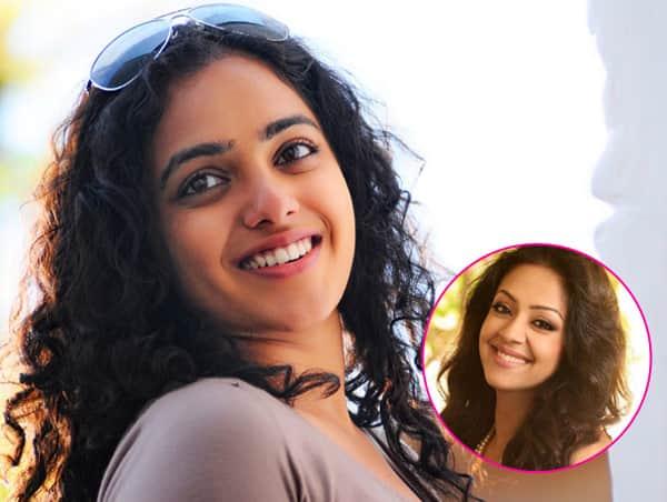 Nithya Menen replaces Jyothika in Vjay 61