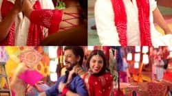 Raees song Udi Udi Jaye making: Shah Rukh Khan puts a ring on Mahira Khan's finger – watch video!