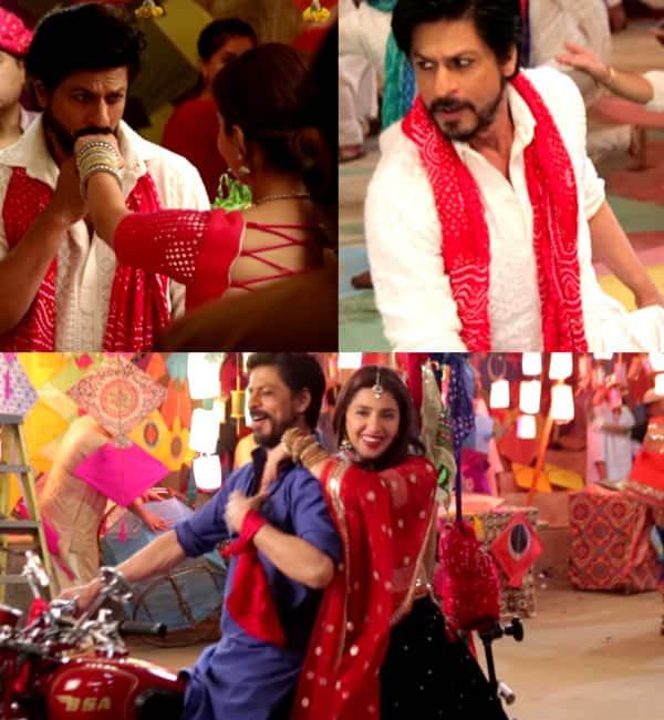 Raees song Udi Udi Jaye making: Shah Rukh Khan puts a ring on Mahira Khan's finger – watch video!