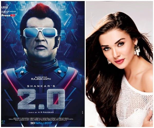 Akshay Kumar, Rajinikanth starrer 2.0's last session shooting will be done in Mumbai- Amy Jackson