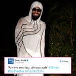 Ranveer Singh's onsie to Shahid Kapoor's pre-birthday bash finds a fan in the condom brand he endorses - view pic