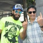 BMC elections 2017: Ranveer Singh casts his vote with father Jagjit Singh Bhavnani